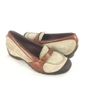 MERRELL | low wedge loafer sz 8